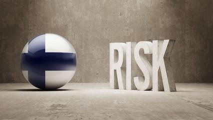 Finland. Risk Concept.