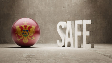 Montenegro. Safe Concept.