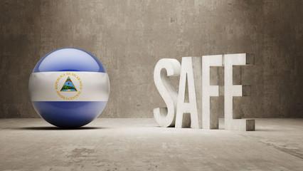 Nicaragua. Safe Concept.