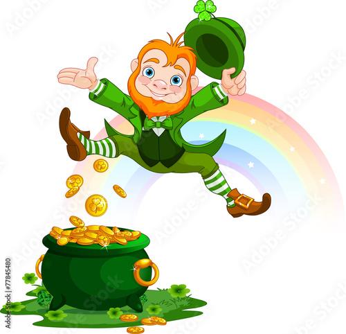 Happy Leprechaun - 77845480