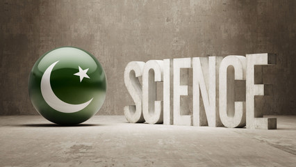 Pakistan. Science Concept.
