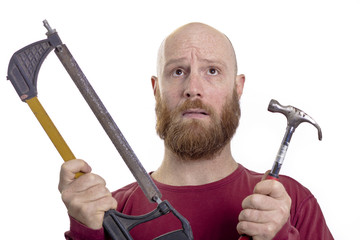 hammer and saw, choice of tools
