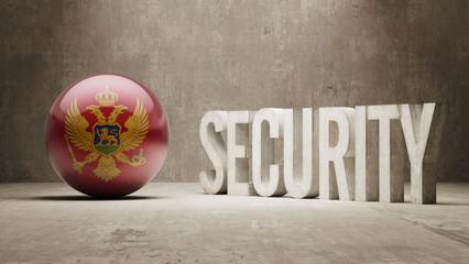 Montenegro. Security Concept.