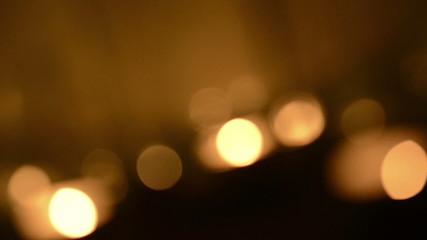 Bokeh background of flickering lights