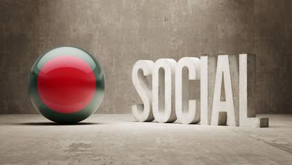 Bangladesh. Social Concept.