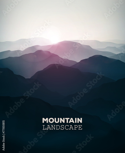 Mountain Landscape - 77850815