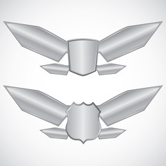Wing steel design elements