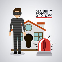 Security design ,vector illustration.