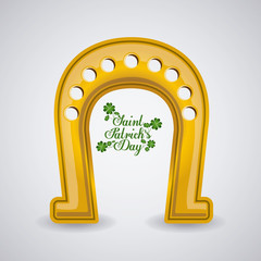 St patricks day design, vector illustration.