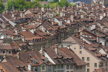 View of Bern or Berne, the capital city of Switzerland