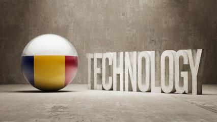Romania. Technology Concept.
