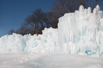 Ice Castle, Minnesota, USA
