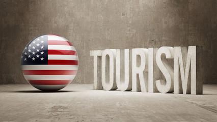 United States. Tourism Concept.