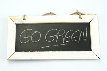 slate go green
