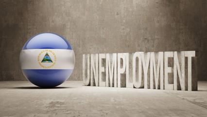 Nicaragua. Unemployment Concept.