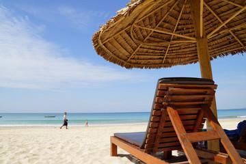 ミャンマー  ガパリビーチの休日