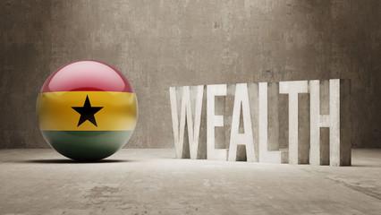 Ghana. Wealth Concept.