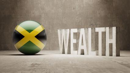 Jamaica. Wealth Concept.