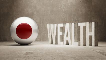 Japan. Wealth Concept.