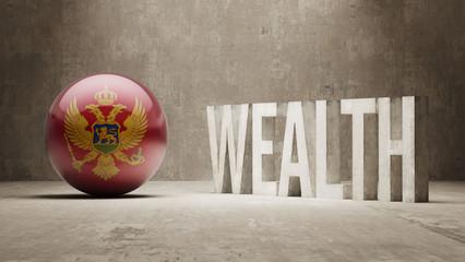 Montenegro. Wealth Concept.