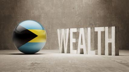 Bahamas. Wealth Concept.