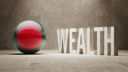 Bangladesh. Wealth Concept.