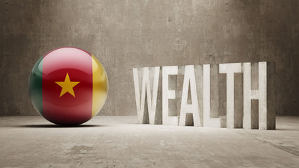Cameroon. Wealth Concept.