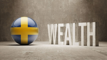 Sweden. Wealth Concept.