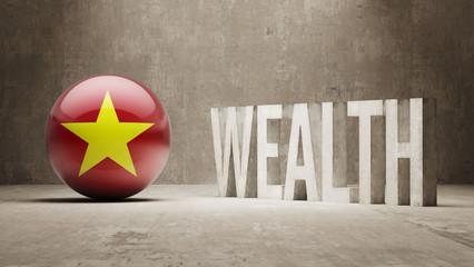 Vietnam. Wealth Concept.