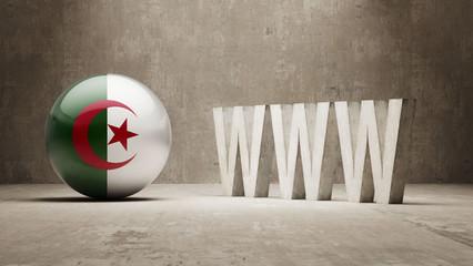 Algeria. WWW Concept.