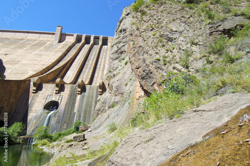 Foto op Canvas Dam Dam Escales