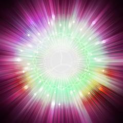 star light aura explosion