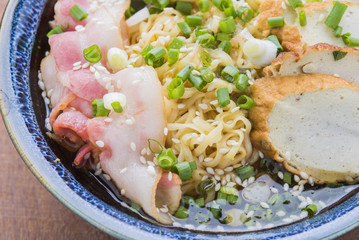 Asian food japanese ramen noodle