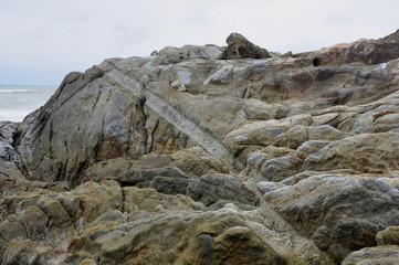 Rock scaring