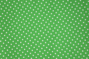 Seamless polka dots fabric for background