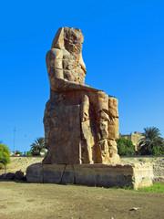 Egypte colosses de Memnon