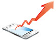 smart phone graph
