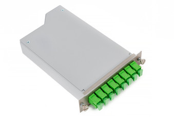 Fiber optic casette with SC connectors isolated