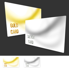 Premium user member card template collection