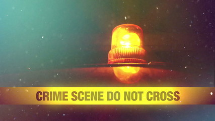 Crime Scene Do Not Cross Yellow Headband Tape