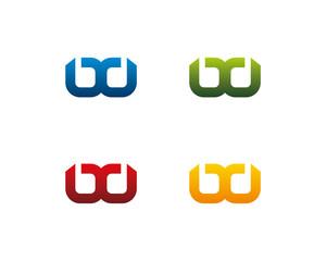 Abstract BD DB Logotype 1