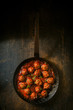 Savory meatballs in a piquant sauce - 77868641