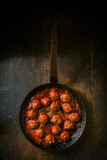 Savory meatballs in a piquant sauce