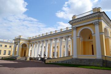 Alexander Palace in Tsarskoye Selo.