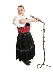 Slovakian Folk Dancer
