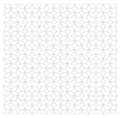White and gray floral seamless pattern