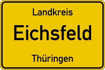Eichsfeld in Thüringen