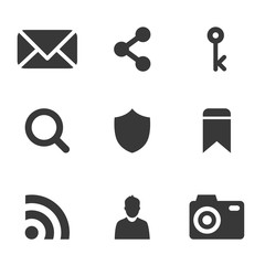 packs icons User interface for mobile devices and web