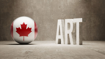 Canada. Art  Concept