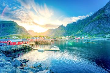 Å i, Moskenesøy, Lofoten,